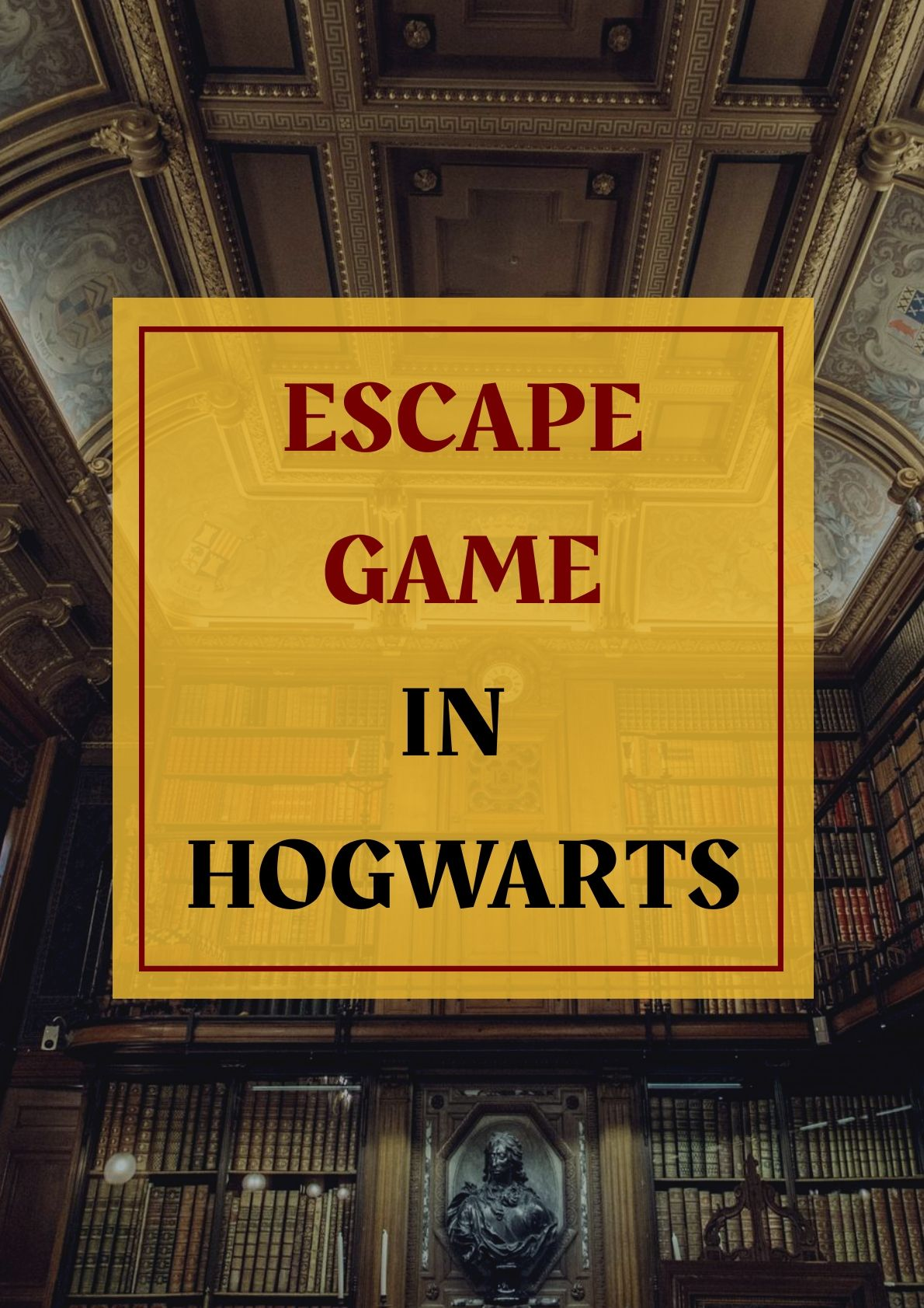Take your broom to Hogwarts in an Escape Game Harry