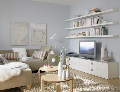 Dunkles Wohnzimmer wird einladend und hell - SCHÖNER WOHNEN - wohnzimmer sch ner wohnen