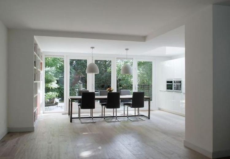 Doors Uitbouw Keuken : Foto verlaagd plafond idee uitbouw keuken geplaatst door wenke
