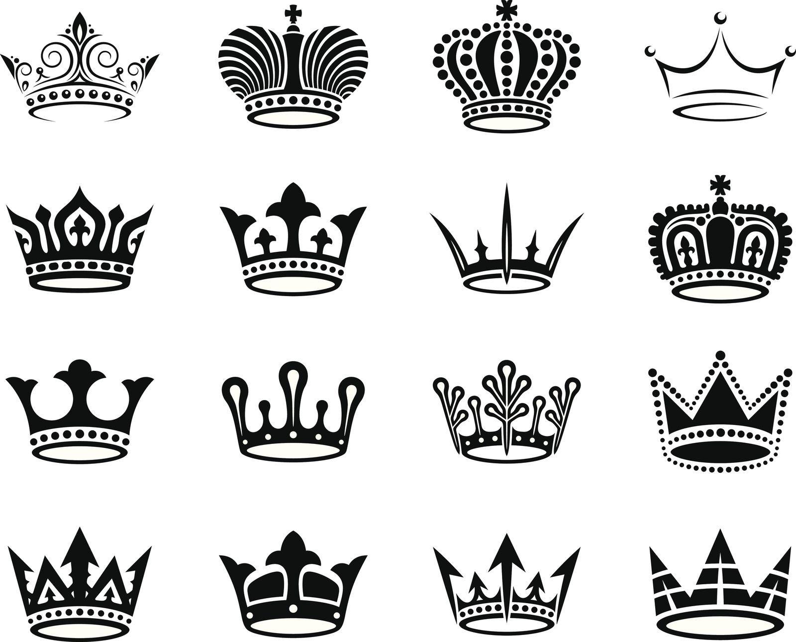 Короны картинки тату