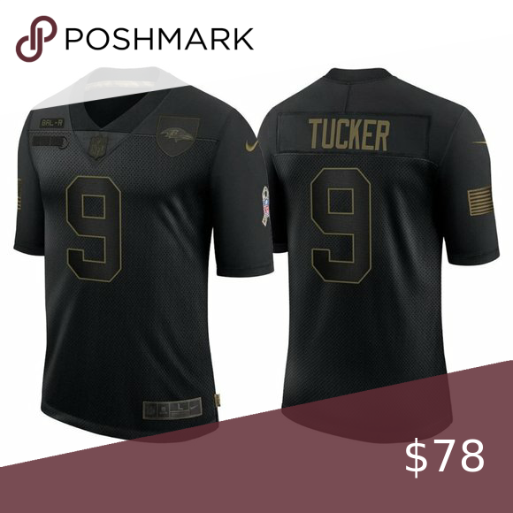 Baltimore Ravens Justin Tucker Jersey Brand New with Tag . True to ...