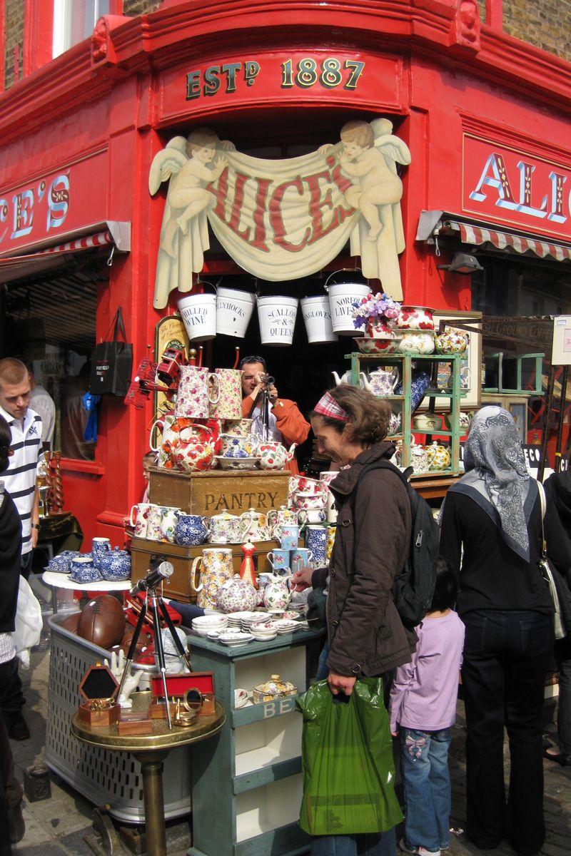 Shopping In London London British Isles Market Shopping