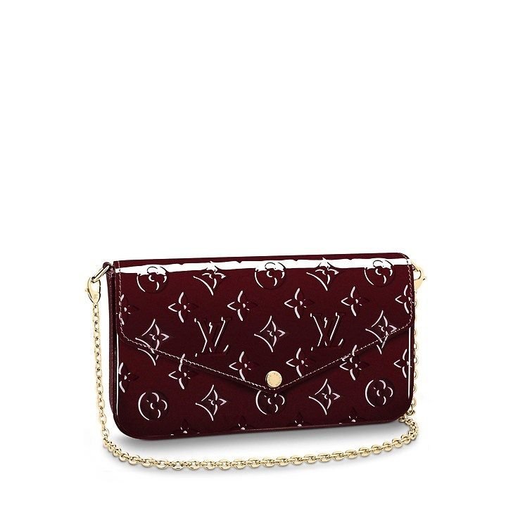 5ba66f5eb101 View 1 - Monogram Vernis Leather SMALL LEATHER GOODS WALLETS Pochette  Félicie