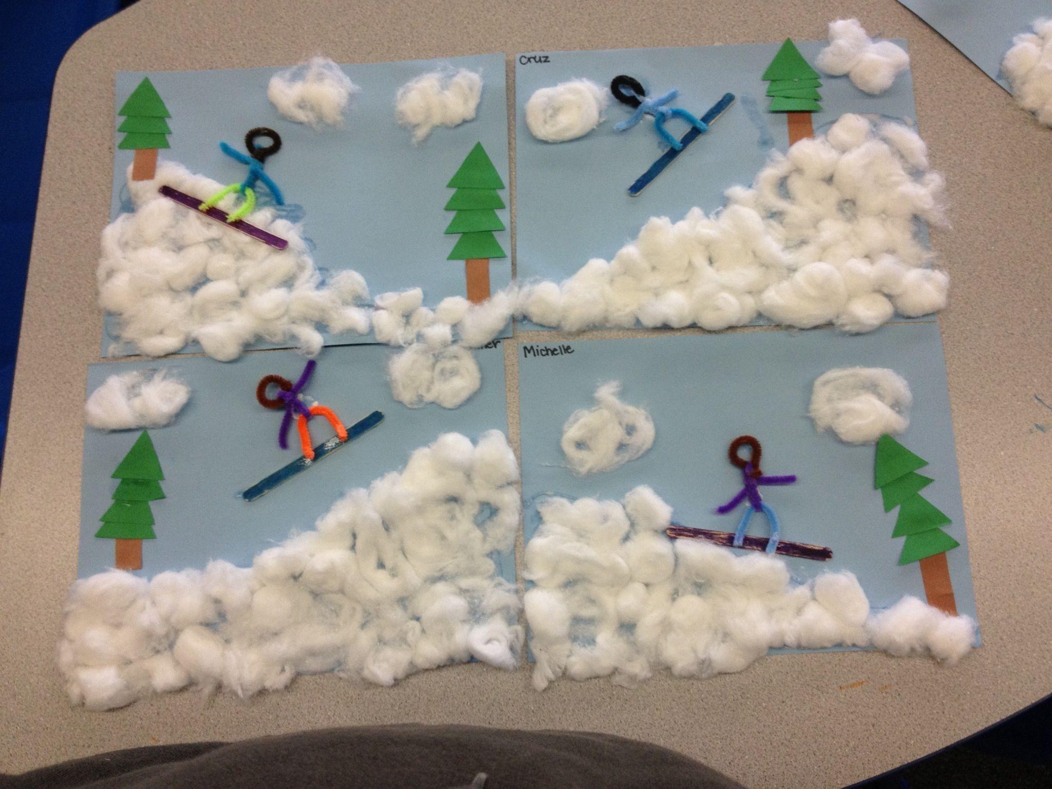Winter Kid Crafts Activities Preschool Ye Craft Ideas
