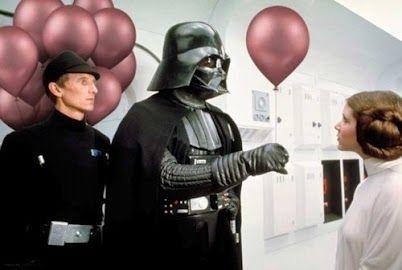 """Sorry, daughter."" http://www.jedipedia.net/wiki/Leia_Organa_Solo"