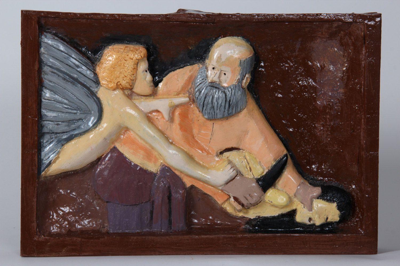 binding of isaac rebirth judaic artwork jewish art activities
