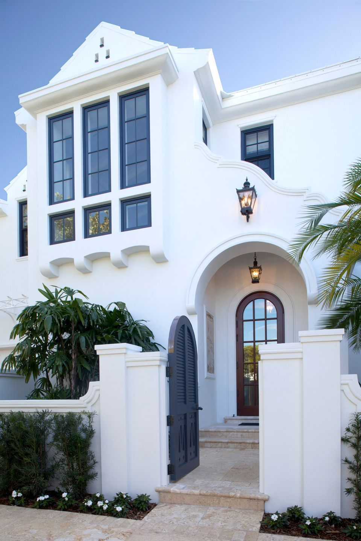 Bermuda style home home exterior pinterest for Haus bauen stile