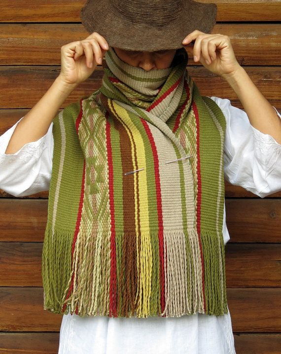 232b70564f01 Mapuche design, blanket scarf wool, handwoven textile, couverture ...