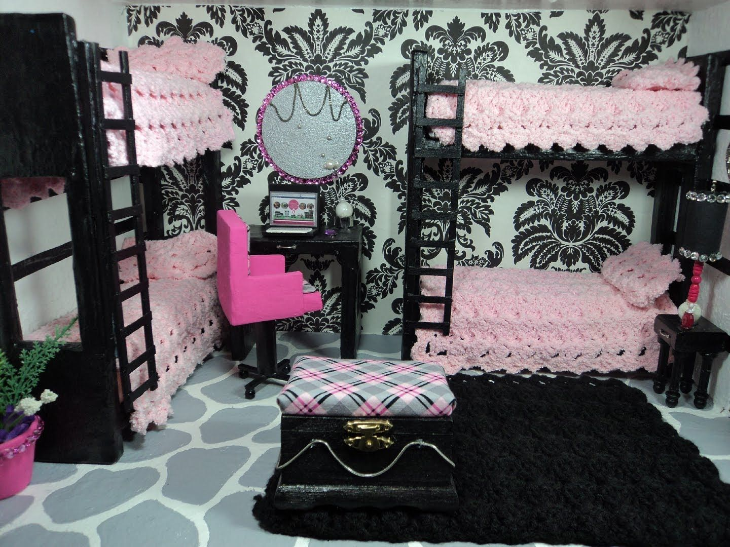 How To Make A Doll Bedroom · Monster High ...