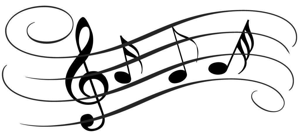 music notes clip art png 139835101453 singing high notes rh pinterest ie  musical instruments clipart black and white