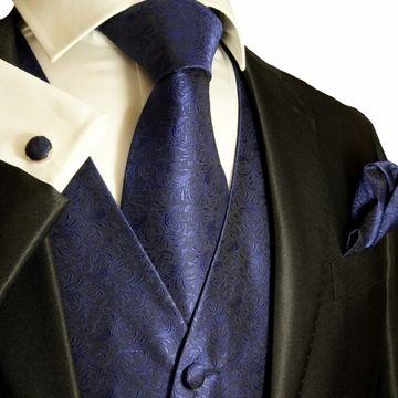 4d8cacd1d6580 Black tux with navy blue vest and tie | Wedding Stuff | Wedding vest ...