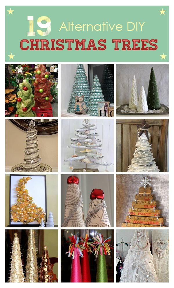 Alternative Christmas Trees Idea Box By Miriam I In 2020 Diy Christmas Tree Alternative Christmas Tree Diy Christmas Art