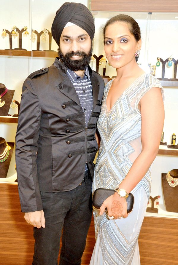 A D Singh and Puneet Kaur at the opening of Jewel Couture at Phoenix Market City, Kurla. #Page3 #Fashion #Style #Beauty