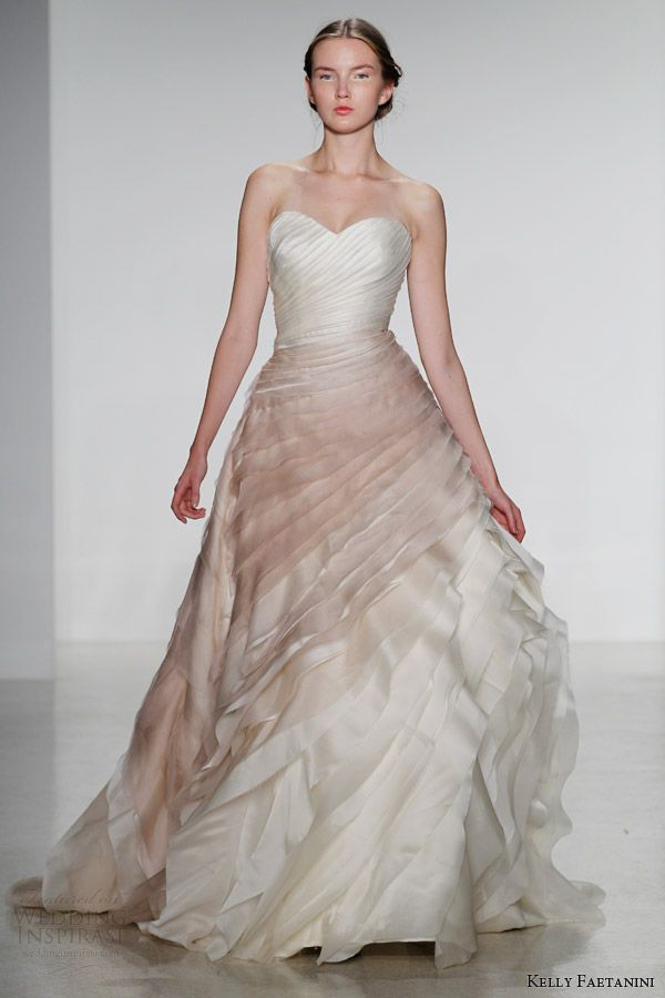 Kelly faetanini fall 2014 wedding dresses color wedding dresses kelly faetanini fall 2014 wedding dresses junglespirit Image collections