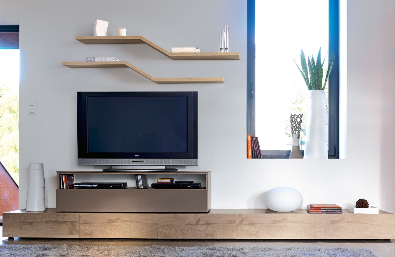 Composition i collection adulis meubles gautier i for Gautier meuble tv