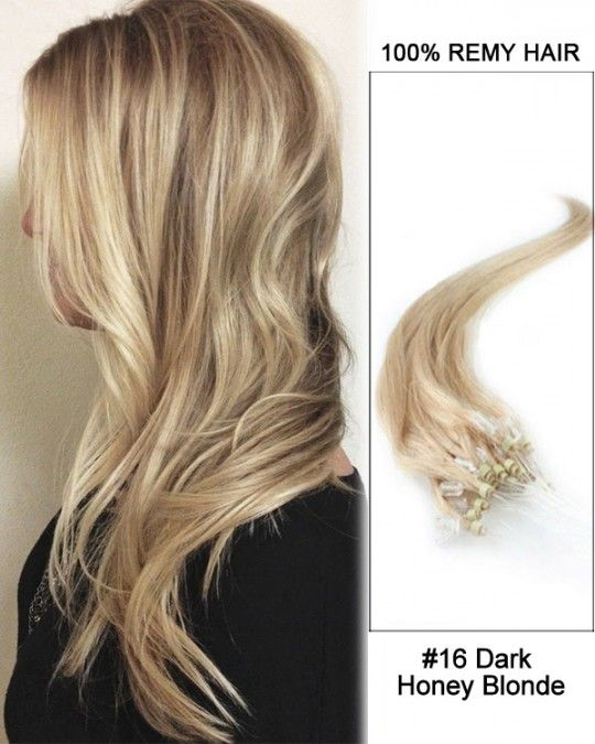 Wholesale 16 Dark Honey Blonde 18 24 Straight 100 Remy Hair
