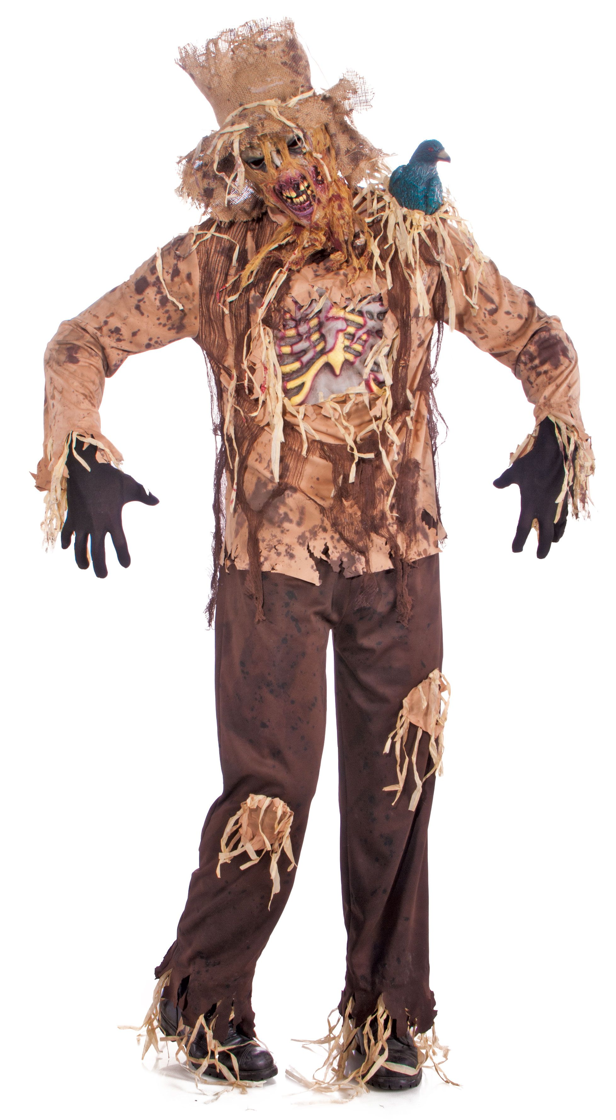 Enge Kostuums Halloween.Rotted Scarecrow Halloween Costumes Kostuum