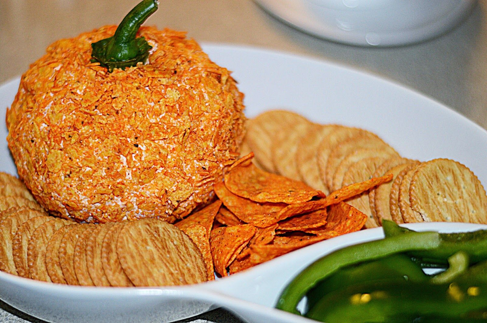 The McClarnon Situation: Our First Thanksgiving Just Us..... The Perfect Fall Cheese Ball