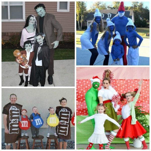 Family Costume Ideas #familycostumeideas