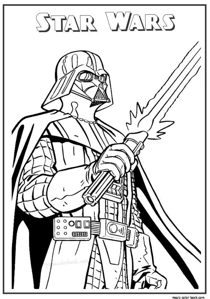 Star wars free printable coloring pages 16 | Adult ...