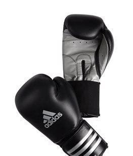 Adidas bokshandschoenen leer ADISTAR Black/silver