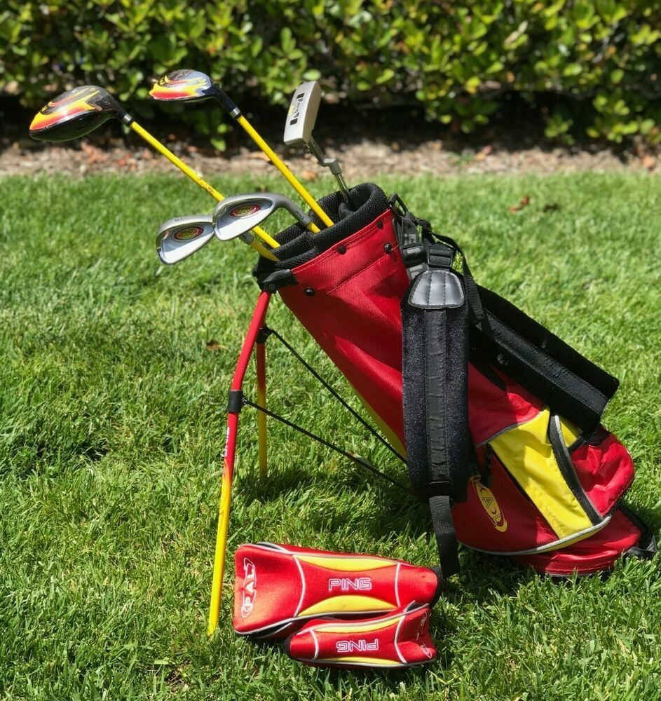 Ping Pal Golf Club Youth Junior Set And Bag Right Handed Ping Golf Drivers Golf Golf Clubs