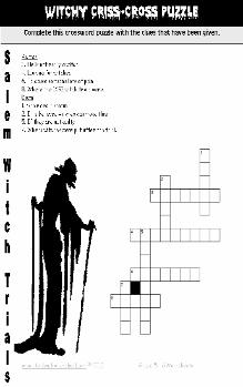 Witch Crossword
