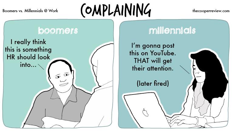 Boomers Vs Millennials Work Millennials Work Millenials Funny Millennials Vs Baby Boomers