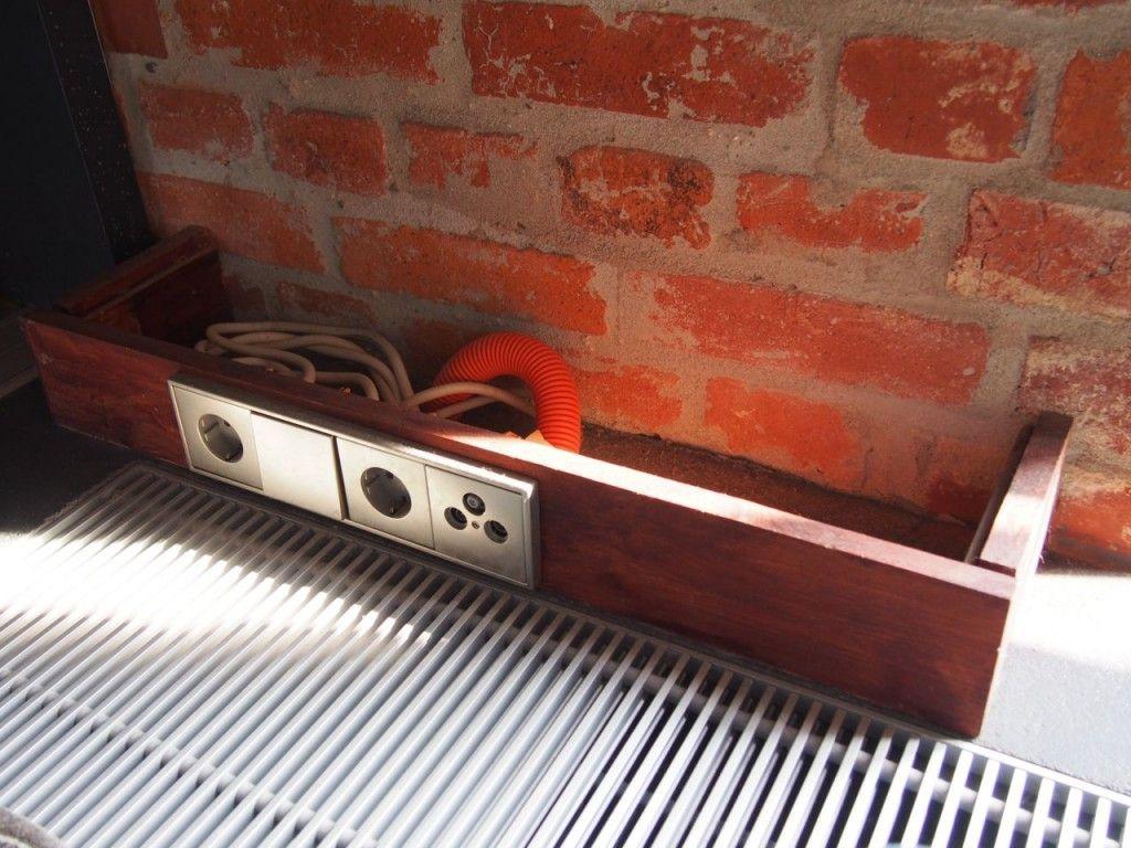 Häufig Kabelkanal aus Holz und Beton | Laden | Kabel, Holz und Steckdosen EZ11