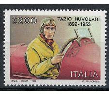ITALIA REPUBBLICA 1992 Tazio Nuvolari MNH**