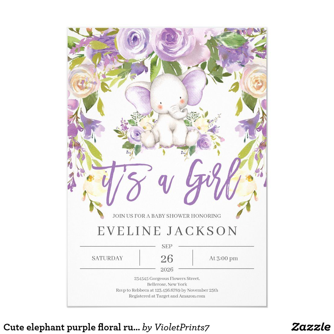 Pin on Baby Shower Invitations,Birth Announcements and