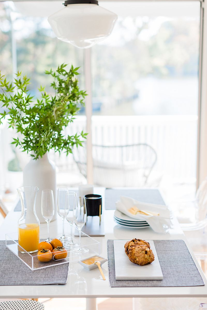 Kristin Corrigan's Home is The Definition of Blissful | Scandinavian dining room, Dining room ...
