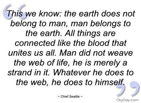 Chief Seattle Quotes. QuotesGram