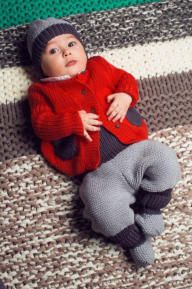 Kostenlose Anleitung: Babyoutfit - Initiative Handarbeit   Stricken ...
