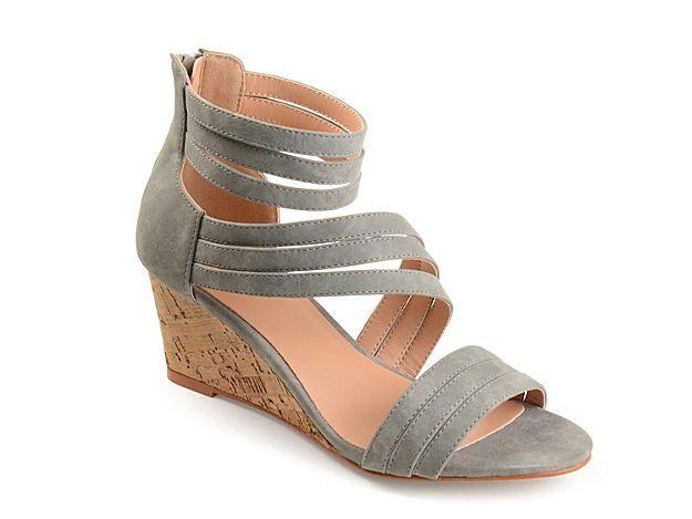 7a70b3ea3eb5 Women Loki Wedge Sandal -Grey