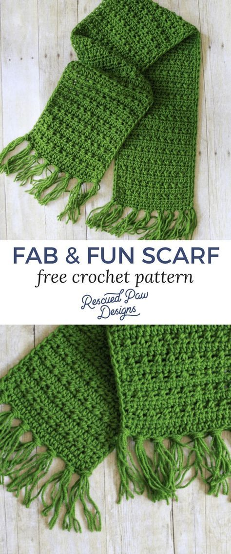 Fabulously Fall Fringe Scarf – Free Crochet Pattern - | Crochet ...