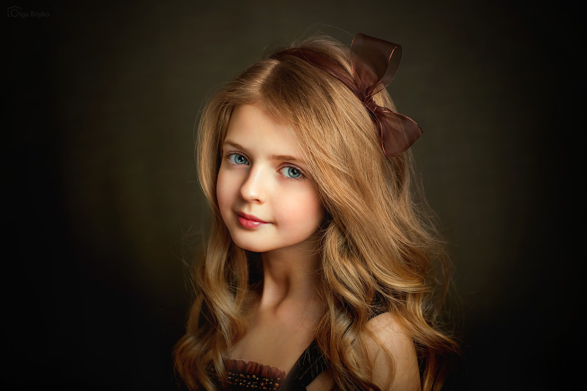 Девочка картинка портрет