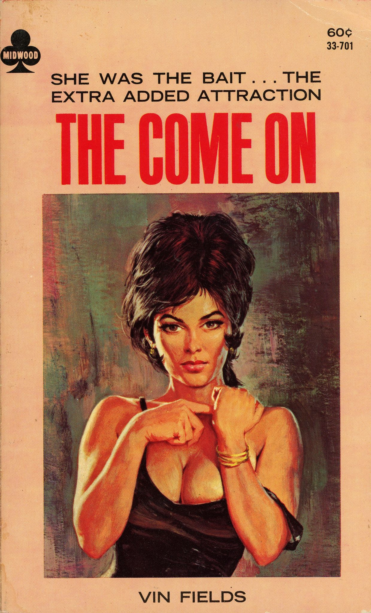 Midwood books 33701 the come on_1966_robert schulz book