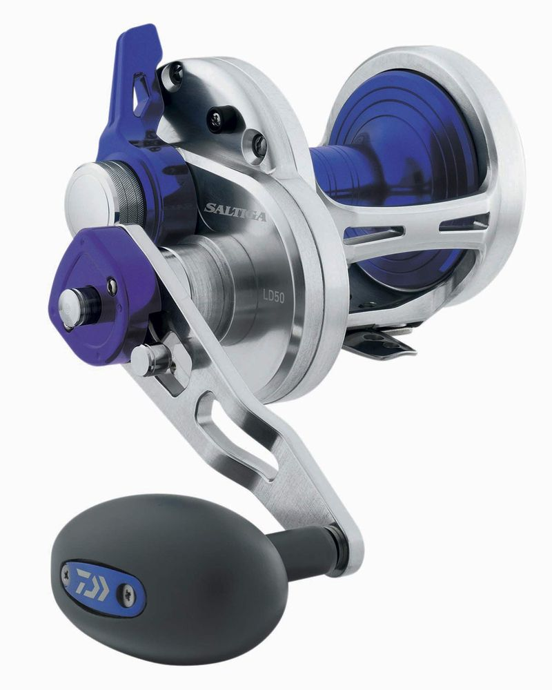 1cb30f66591 Daiwa - Saltiga 2 Speed Lever Drag Reel | Reel Fish Stories: You'll ...