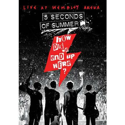 How Did We End Up Here Dvd 5 Seconds Of Summer Second Of Summer Five Seconds Of Summer