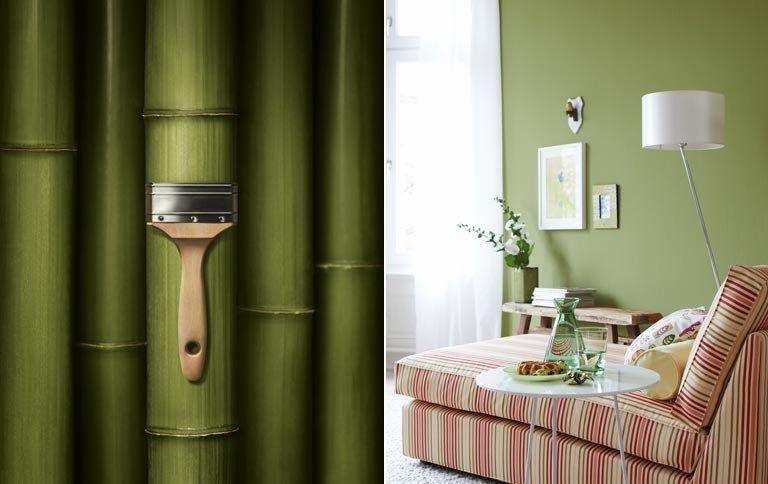 Schöne Wohnen das sind die neuen schöner wohnen trendfarben trendfarbe bamboo
