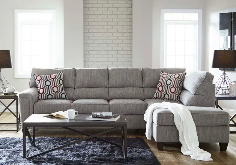 Maylie Gray 2 Pc Sectional In 2020 Sectional Sofa Sofa Home Decor