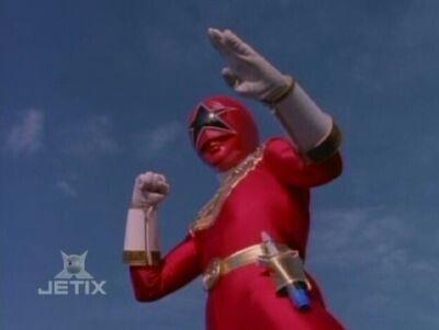 Zeo Ranger V Red