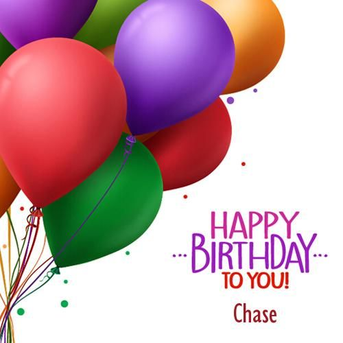 Write Name On Birthday Colorful Balloons Greeting Card Birthdays