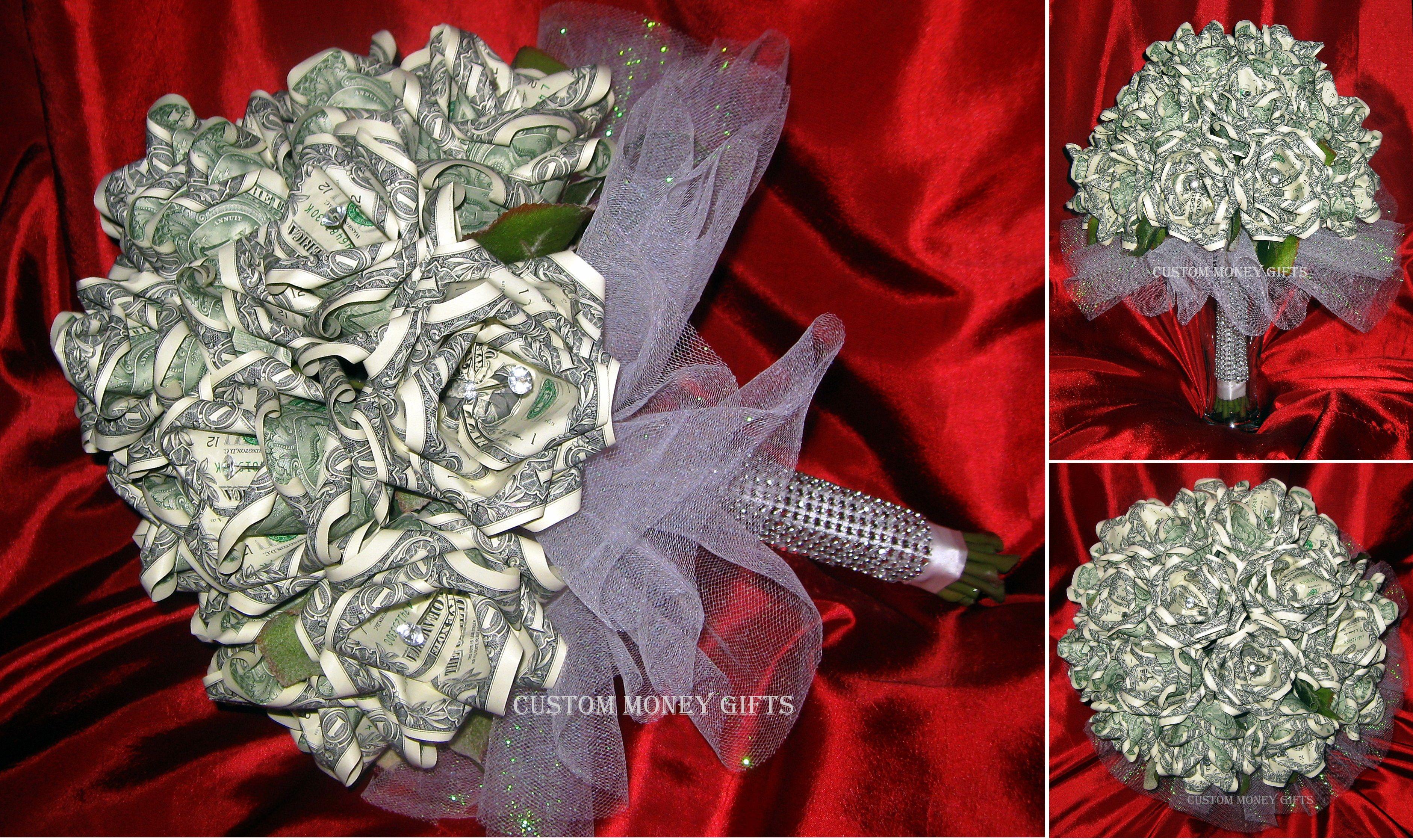 Money flower bouquet made with 100 x 1 bills loved working on money flower bouquet made with 100 x 1 bills loved working on this izmirmasajfo
