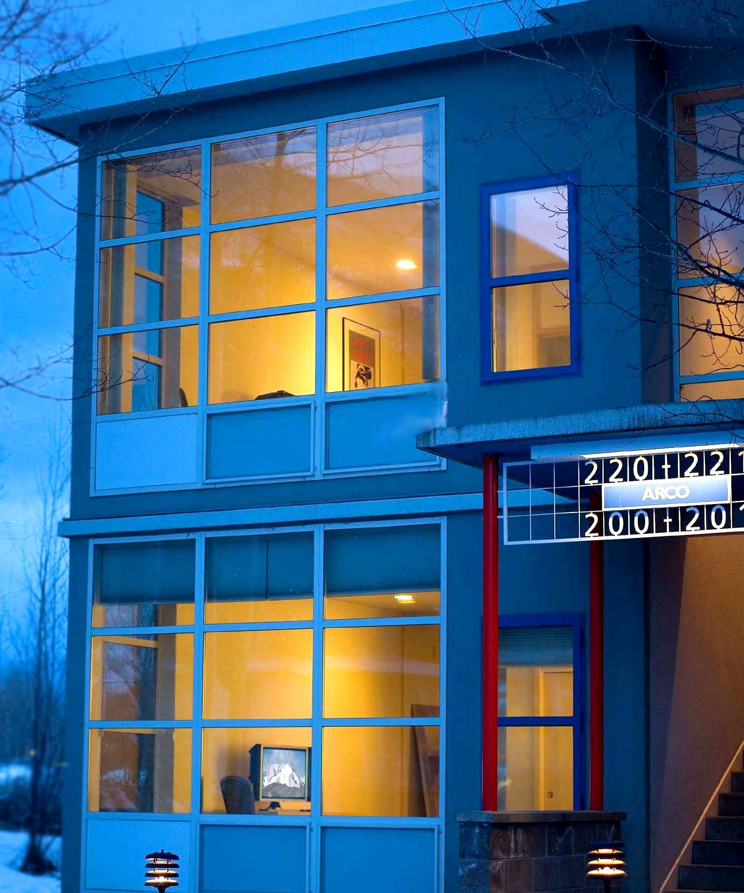 Simple yet elegant, Bauhausinspired architecture and