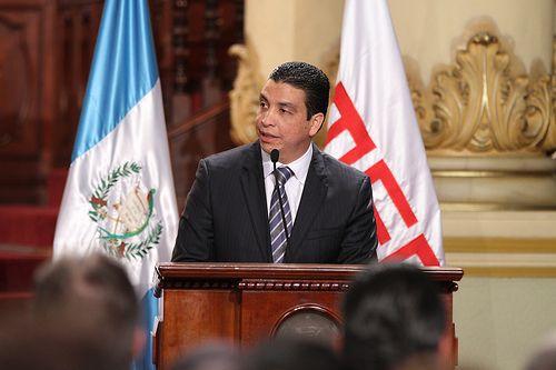 Ministro Erick Archila