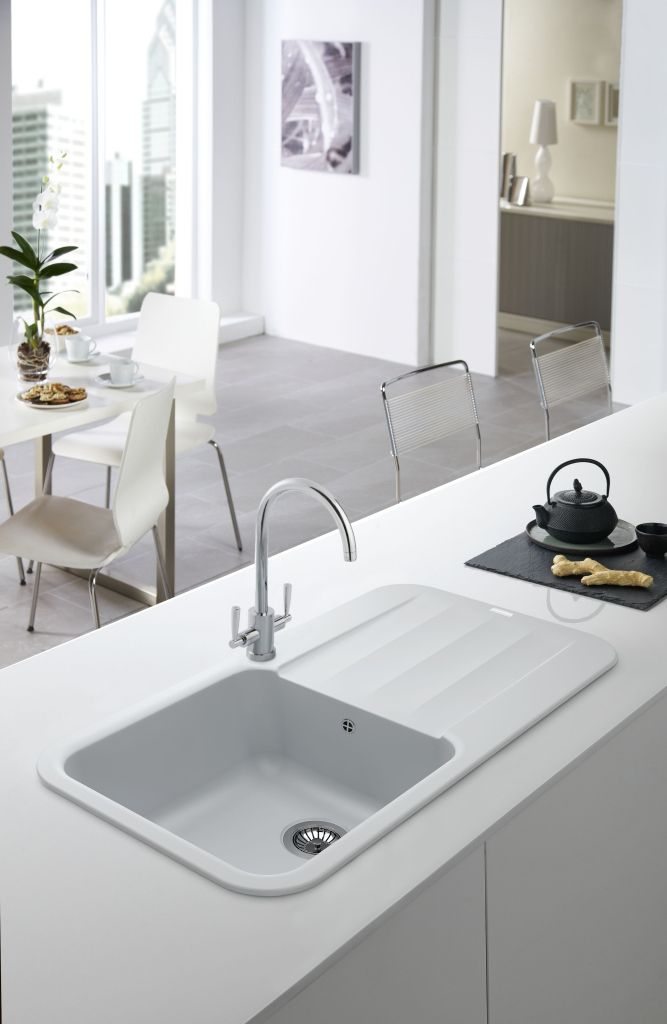 Attirant This Franke Sink Fits In To The Clean, Minimalist Design Of This Kitchen  Perfectly