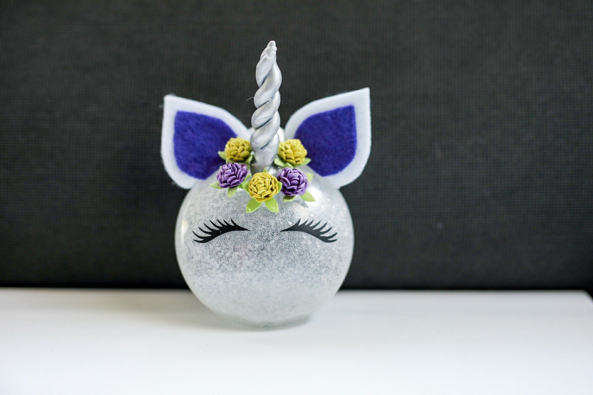 Diy Unicorn Christmas Ornament