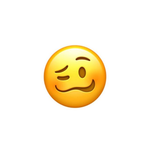 Apple Releases The Most Relatable Emoji Yet The I M Hammered Face Stiker Tumblr